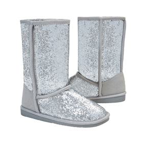 Photo of Glitter Fuzzy Boot