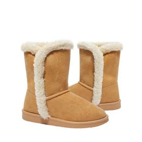 Photo of Tulip Hem Fuzzy Boot