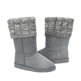 Photo of Tall Sweater Fuzzy Boot