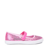 Pink Sequin Mary Jane