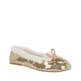 Sequin Moccasin Slipper