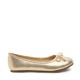 Gold Metallic Flat