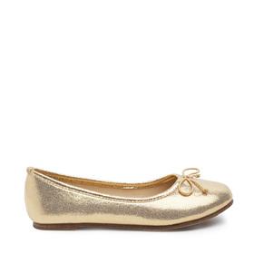 Gold Metallic Flat