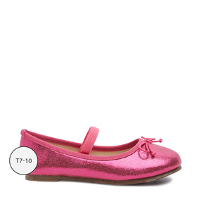 Pink Metallic Flat