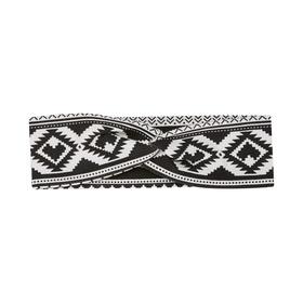 Fair Isle Knotted Headband