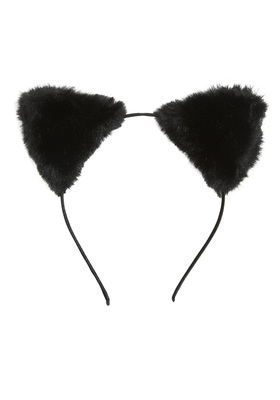 Fur Cat Headband