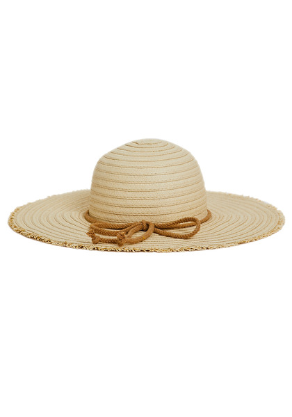 Frayed Floppy Hat