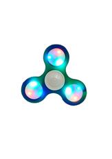 Swirl Light Up Fidget Spinner