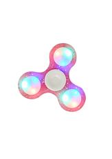 Glitter Light Up Fidget Spinner