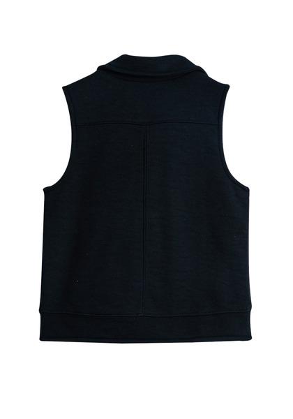 Knit Moto Vest
