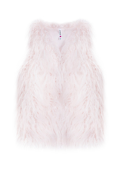 Long Faux Fur Vest