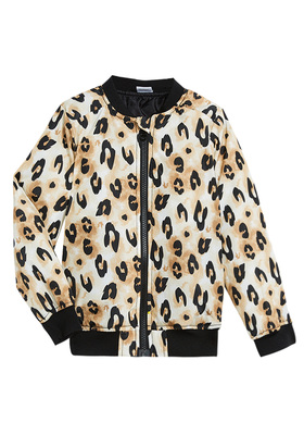 Cheetah Bomber Jacket