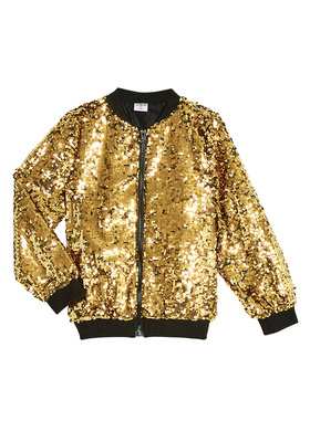 Limited Edition Sequin Bomber Jacket