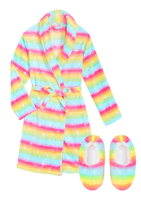 Rainbow Robe Set