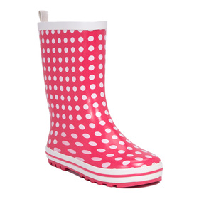 Polka Dot Rain Boot