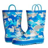 Blue Camo Rain Boot