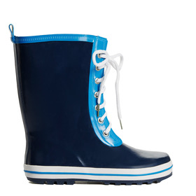 Lace Up Rain Boot