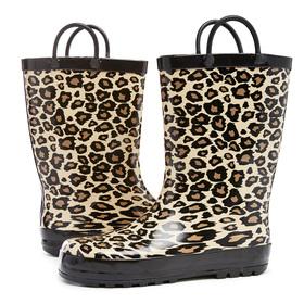 Leopard Rain Boot