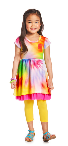 Tie Dye Girl Outfit