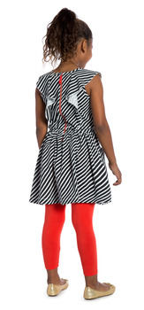 Red Swing Stripe Outfit