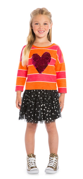 Heart School Outfit