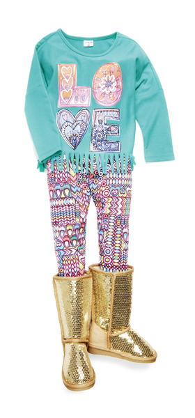 Boho Love Outfit W/ Shoes