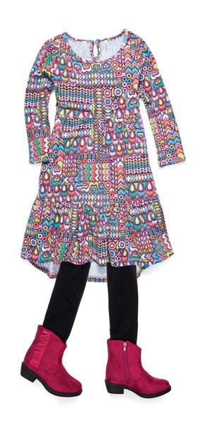 Boho Dream Outfit W/ Shoes