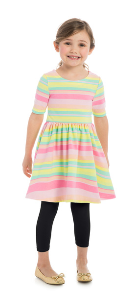 Rainbow Stripe Outfit