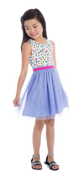 Blue Cheetah Ballerina Outfit