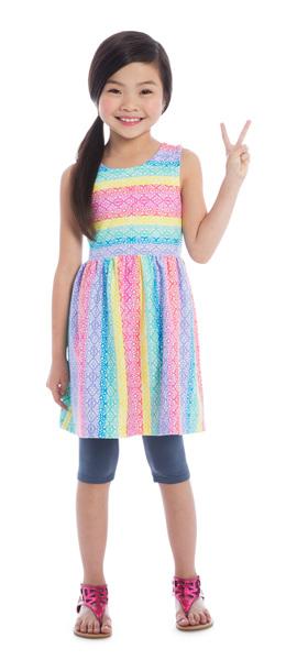 Capri Rainbow Lace Outfit