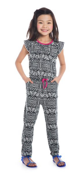 Tribal Jumpsuit Outfit