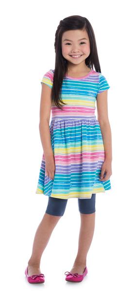 Capri Rainbow Stripe Outfit