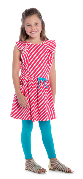 Blue Swing Stripe Fun Outfit