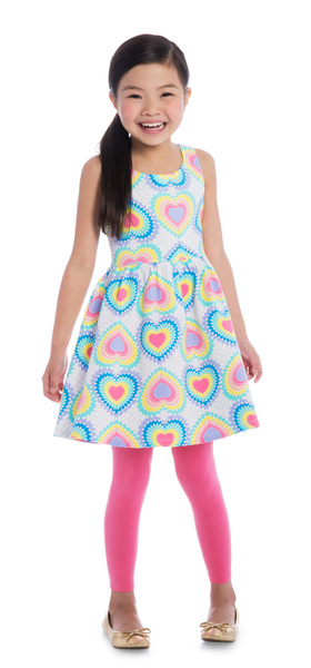 Pink Rainbow Heart Outfit
