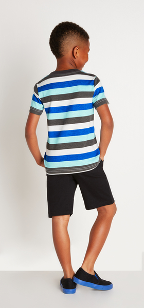 Blue Stripe Outfit