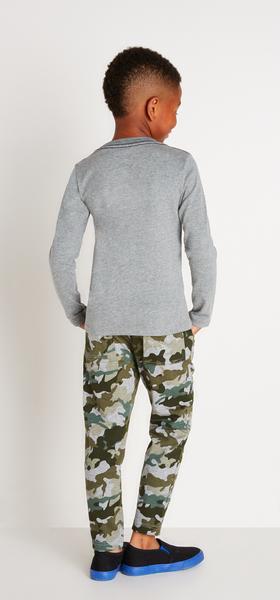 Camo T-Rex Outfit