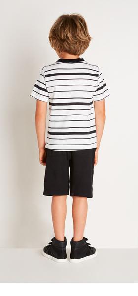Black Stripe Outfit
