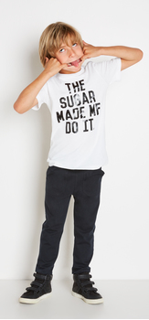 Sugar Made Me Tee Outfit