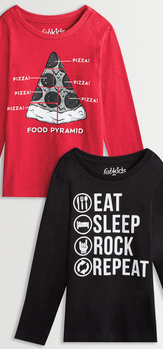 Eat Sleep Rock Tee Pack