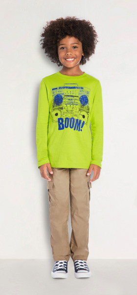 Cargo Boom Box Outfit