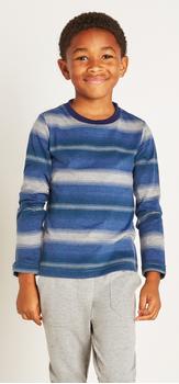 Blue Multi Stripe Outfit