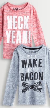 Heck Yeah Bacon! Tee Pack