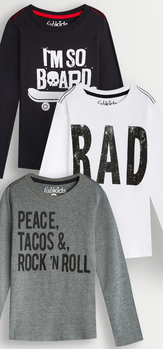 Rad Graphics Tee Pack