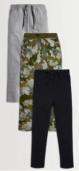 Green Camo Harem Pants 3-Pack