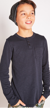 The Black Henley Outfit