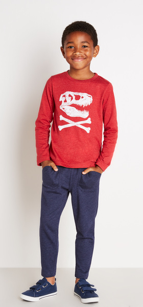 Red Dino Skull Outfit