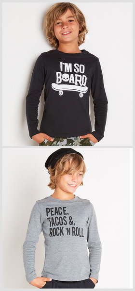 Peace & Rock Tee Pack