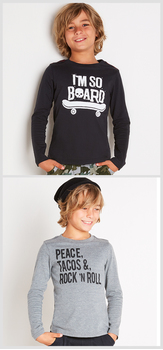 Peace & Rock Tee Pack