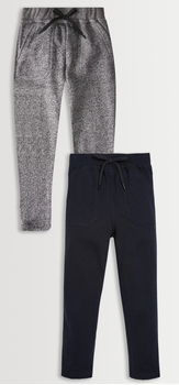 Grey Heather & Black Pant Pack