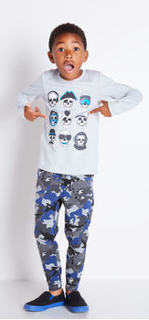 Skull Camo Outfit